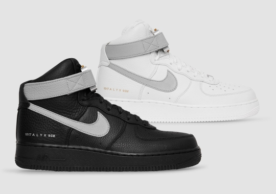 Where To Buy The ALYX x Nike Air Force 1 High