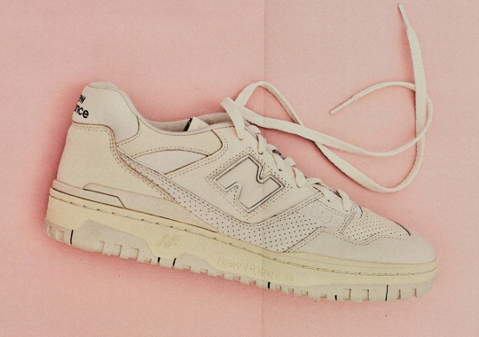 AURALEE's Minimal New Balance 550 Collaboration Releases Globally In August