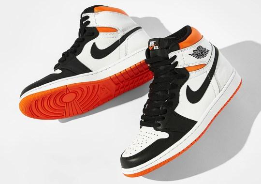 "This Jordan Series .01 Is An Ode To The 90s The Air Jordan 1 Retro High OG ""Electro Orange"""