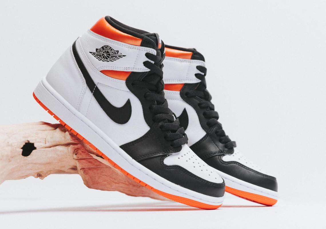 Air Jordan 1 Retro High OG Electro Orange Release | SneakerNews.com