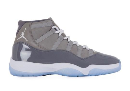 """Detailed Look At 2021's Air Jordan 11 """"Cool Grey"""""""
