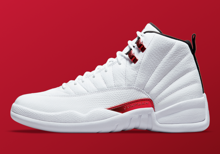 """Official Images Of The Air Jordan 12 """"Twist"""""""
