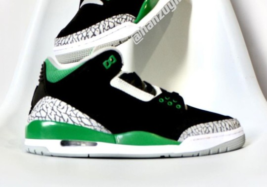 "First Look At The Air Jordan 3 ""Pine Green"""