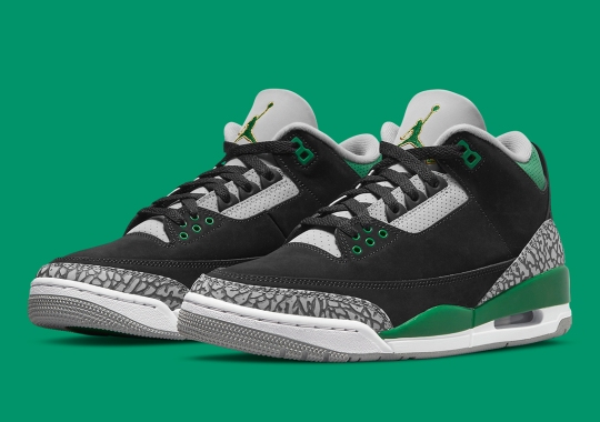 """The Air Jordan 3 """"Pine Green"""" Releases On October 30th"""