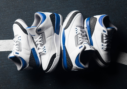 "Where To Buy The Air Jordan 3 ""Racer Blue"""