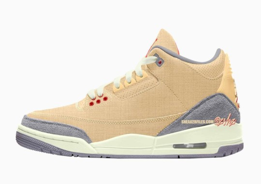 """The Air Jordan 3 """"Canvas"""" Expected March 2022"""