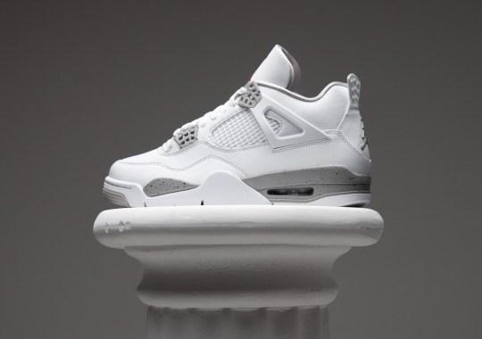 "The Air Jordan 4 ""Tech White"" Releases Tomorrow"