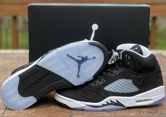 """Closer Look At The Air Jordan 5 """"Oreo"""""""