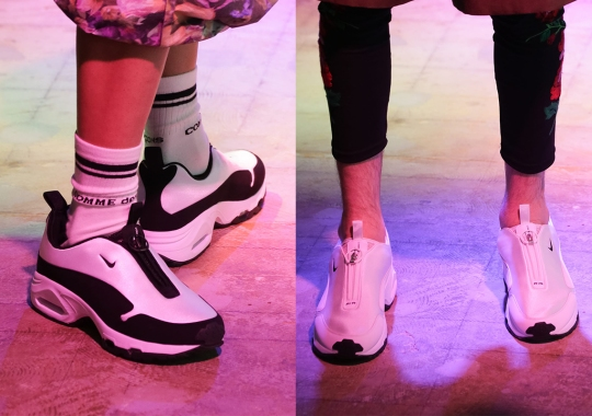COMME des GARCONS HOMME PLUS And Nike Revive The Air Sunder Max For SS22