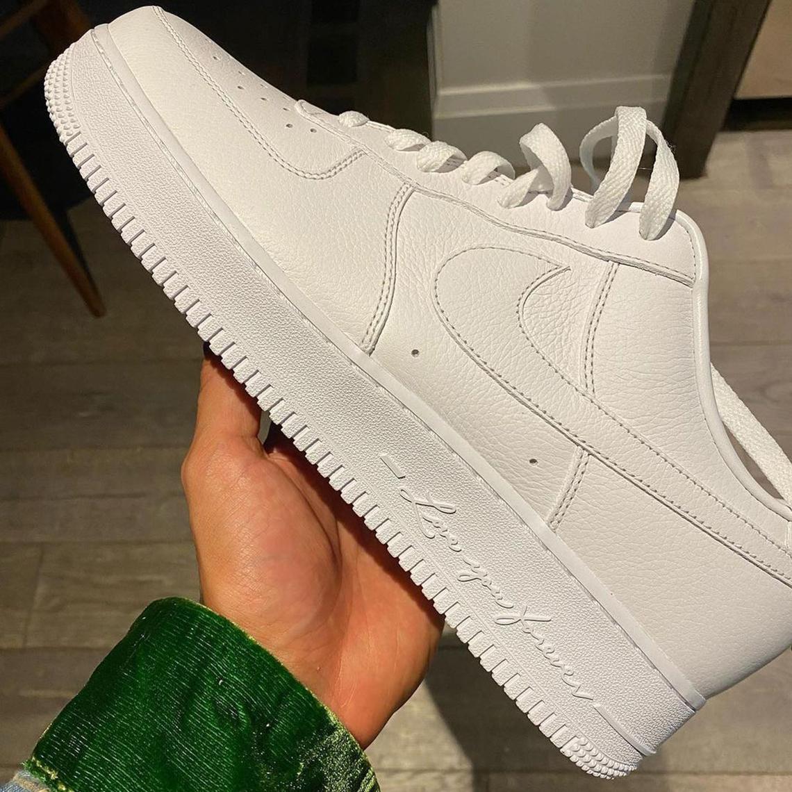 Drake Nike Air Force 1 Lover Boy Photos 2