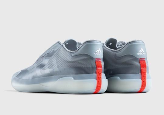 The Prada x adidas Luna Rossa 21 In Grey Drops Exclusively At Highsnobiety Shop