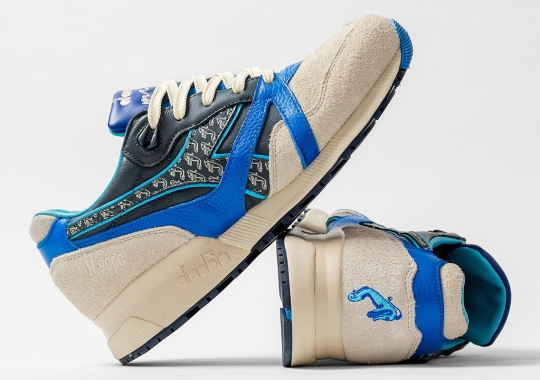 """HANON And Diadora Celebrate Their 7th Anniversary With The N9000 """"Pictish Warrior"""""""