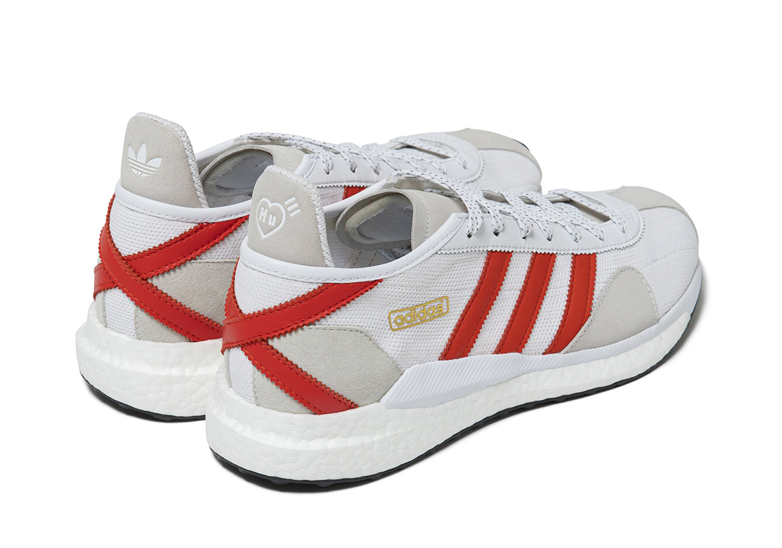 Human Made adidas Tokio Solar White Red 1