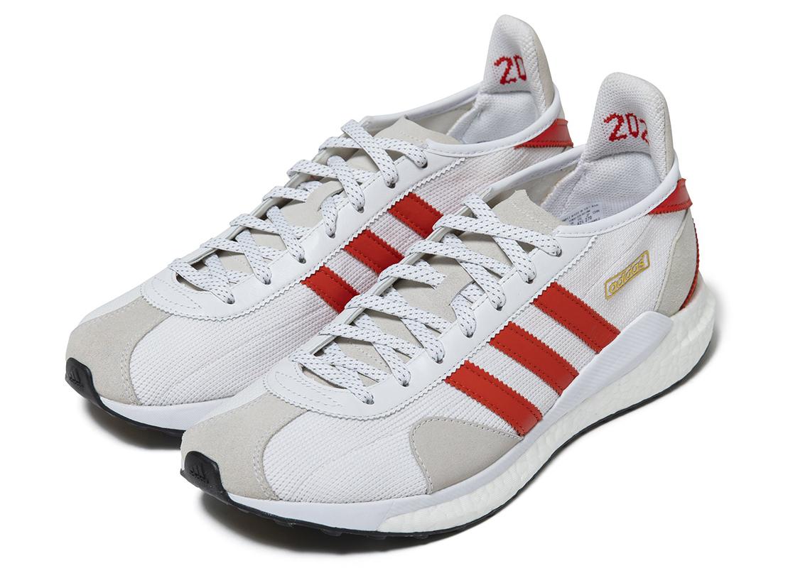 Human Made adidas Tokio Solar White Red 2