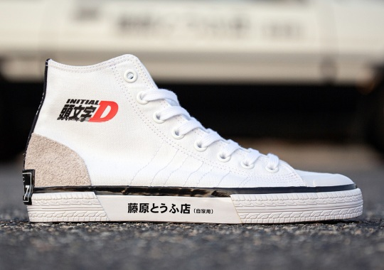 The Iconic Trueno AE86 Of Initial D Takes Center Stage On The Upcoming BAIT x adidas Nizza Hi