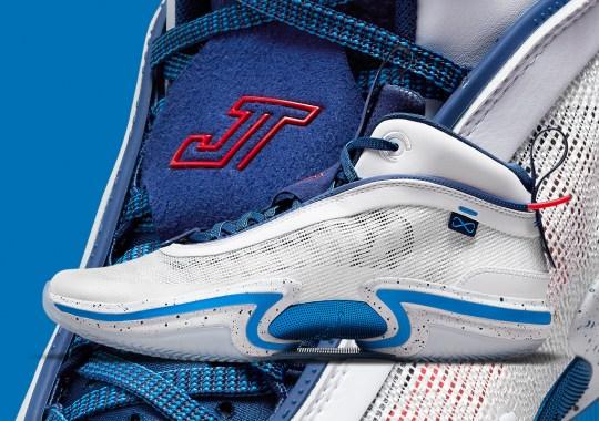 Jayson Tatum Brings Out His Own Air Jordan 36 For The Tokyo Olympics
