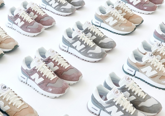 The KITH x New Balance RC_1300 Is An Ode To The Two Brand's Long-Standing Relationship
