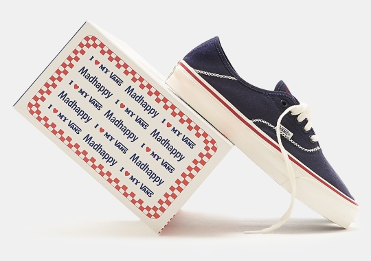 Madhappy Quickly Follows Up Their Vans OG Style 43 LX With A Navy Colorway