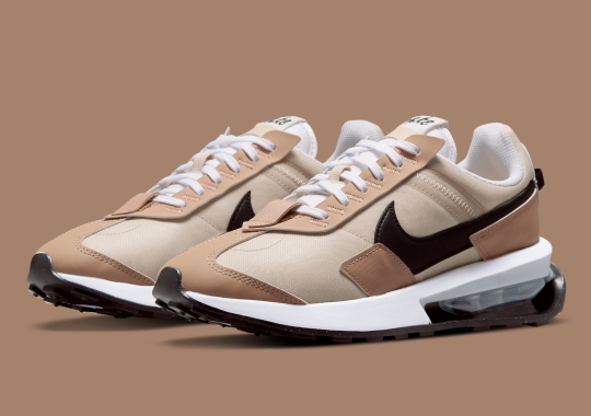"""The Nike Air Max Pre-Day Appears In Fall-Ready """"Oatmeal"""""""
