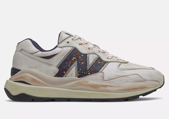 New Balance Applies A Worn Painter's Look To The 57/40
