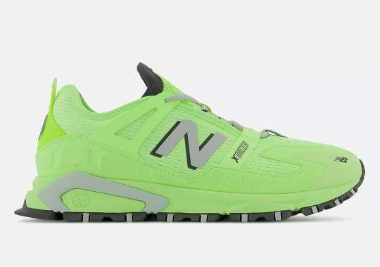 """The New Balance X-Racer Returns In """"Bleached Lime Glo"""""""
