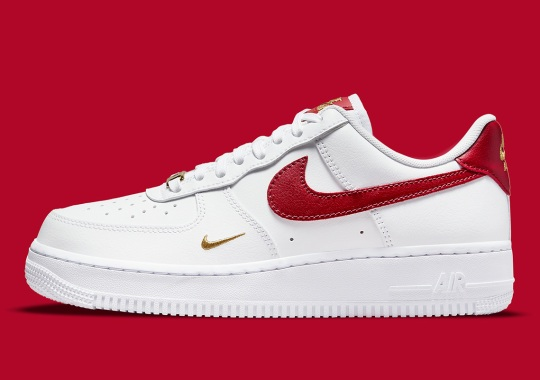 Red And Gold Spice Up This Upcoming Nike Air Force 1
