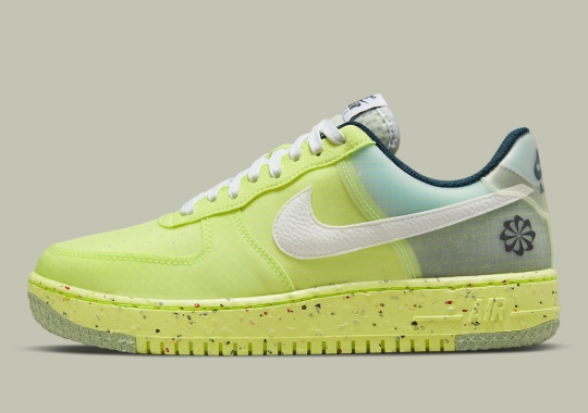 """Nike's """"Move To Zero"""" Campaign Brings Vibrant """"Light Lemon Twist"""" To The Air Force 1 Crater"""