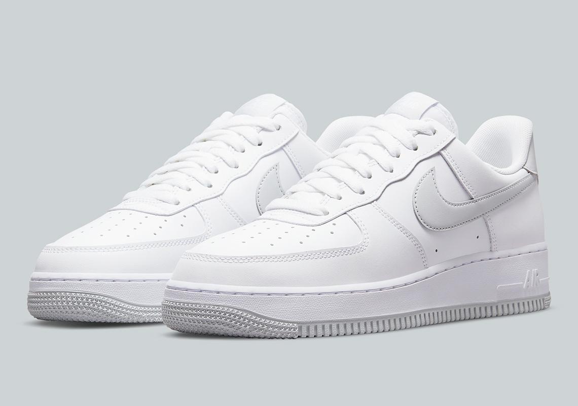 Nike Air Force 1 White Grey DC2911-100 | SneakerNews.com