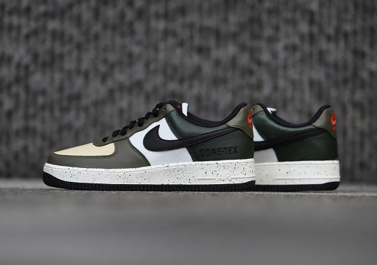 """The Nike Air Force 1 GTX Takes Some Cues From The """"Escape"""" Line-Up"""
