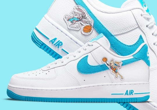"""Where To Buy The Space Jam: A New Legacy x Nike Air Force 1 """"Tune Squad"""""""
