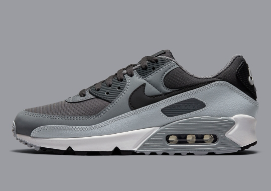The Nike Air Max 90 Goes Greyscale Right In Time For Fall