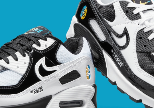 Nike Channels Their Inner Lucha Libre With Upcoming Air Max 90