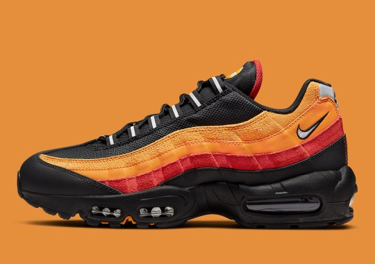 """The Nike Air Max 95 Gets A """"Rayguns"""" Look"""
