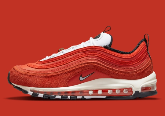 """A """"Blood Orange"""" Nike Air Max 97 Joins The Expansive """"First Use"""" Collection"""