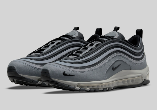 The Mini-Swooshed Nike Air Max 97 Returns In Grey And Black