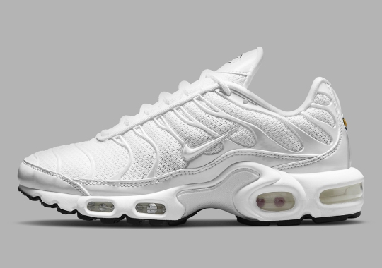The Nike Air Max Plus Curates A Triple White Look For Women