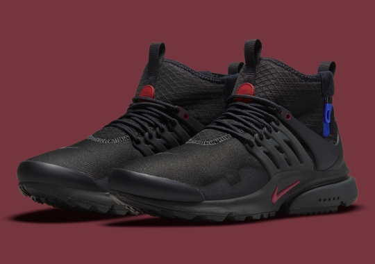 Another Nike Air Presto Mid Utility Emerges, Hinting At Larger Comeback
