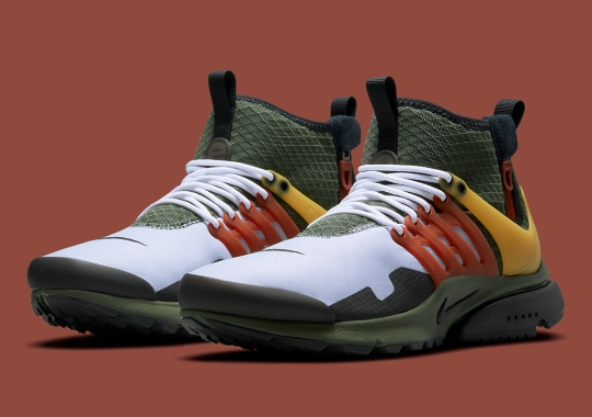 This Nike Air Presto Mid Utility Resembles One Of The Galaxy's Most Feared Bounty Hunters