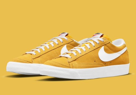 """The Nike Blazer Low '77 Suits Up In """"Speed Yellow"""""""