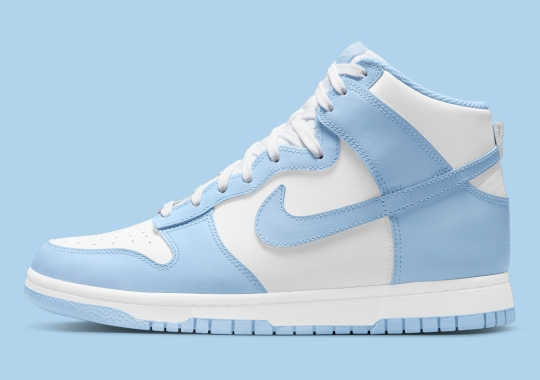 """Official Images Of The Women's Nike Dunk High """"Aluminum"""""""