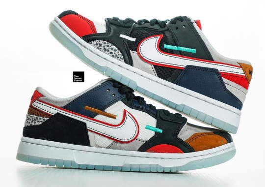 Hits Of Safari Print Appear On This New Nike Dunk Low Scrap