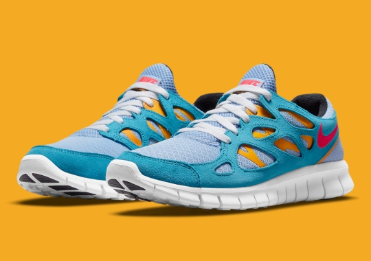 Shades Of Blue Land On The Next Nike Free Run 2