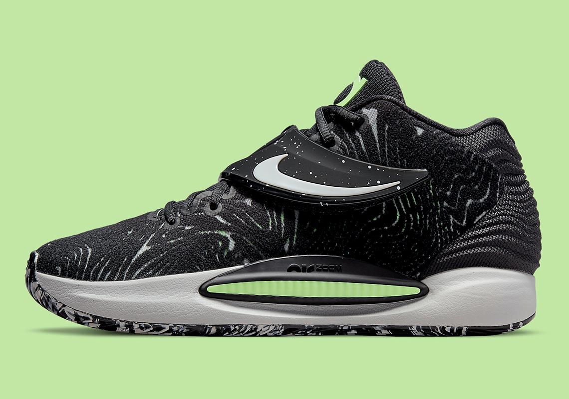 Nike KD 14 Black Volt CW3935 005 2