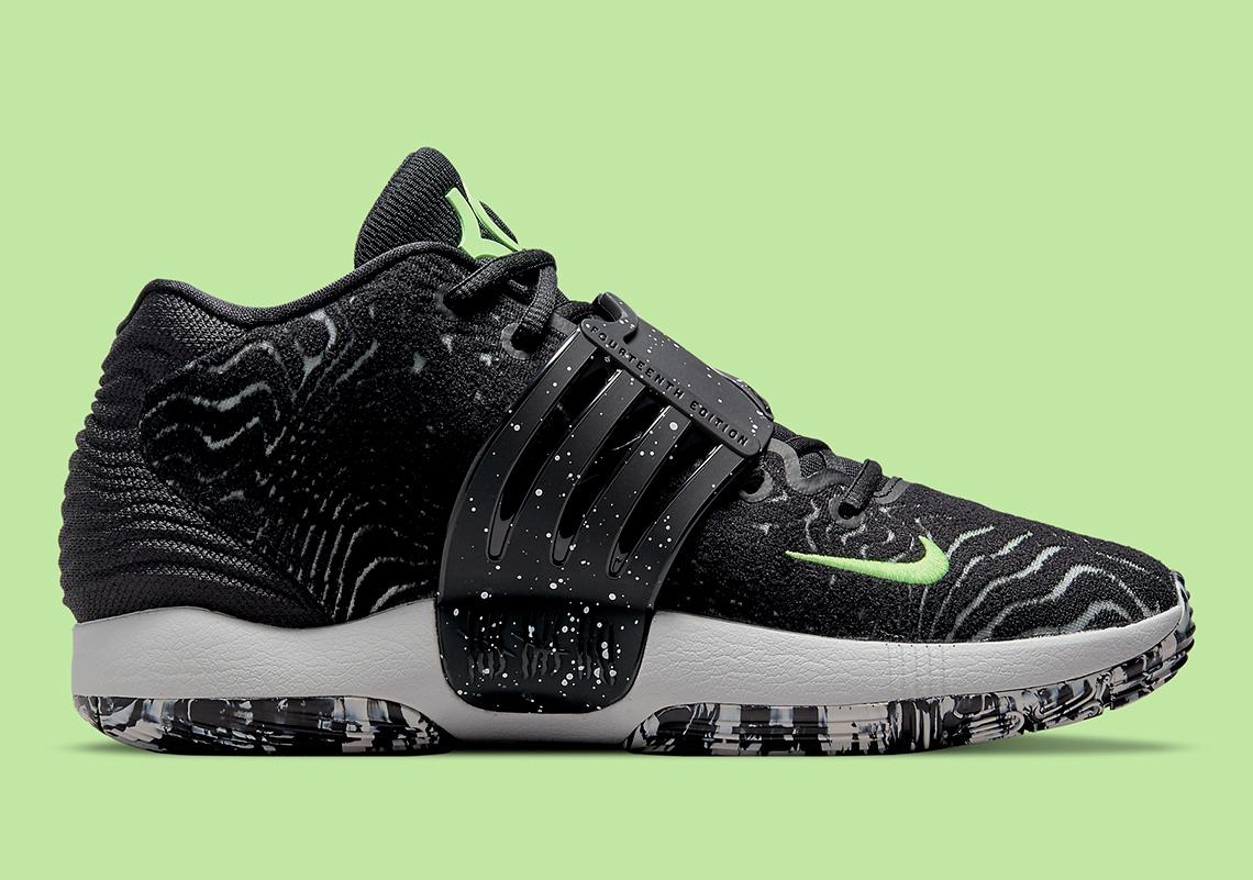 Nike KD 14 Black Volt CW3935 005 4