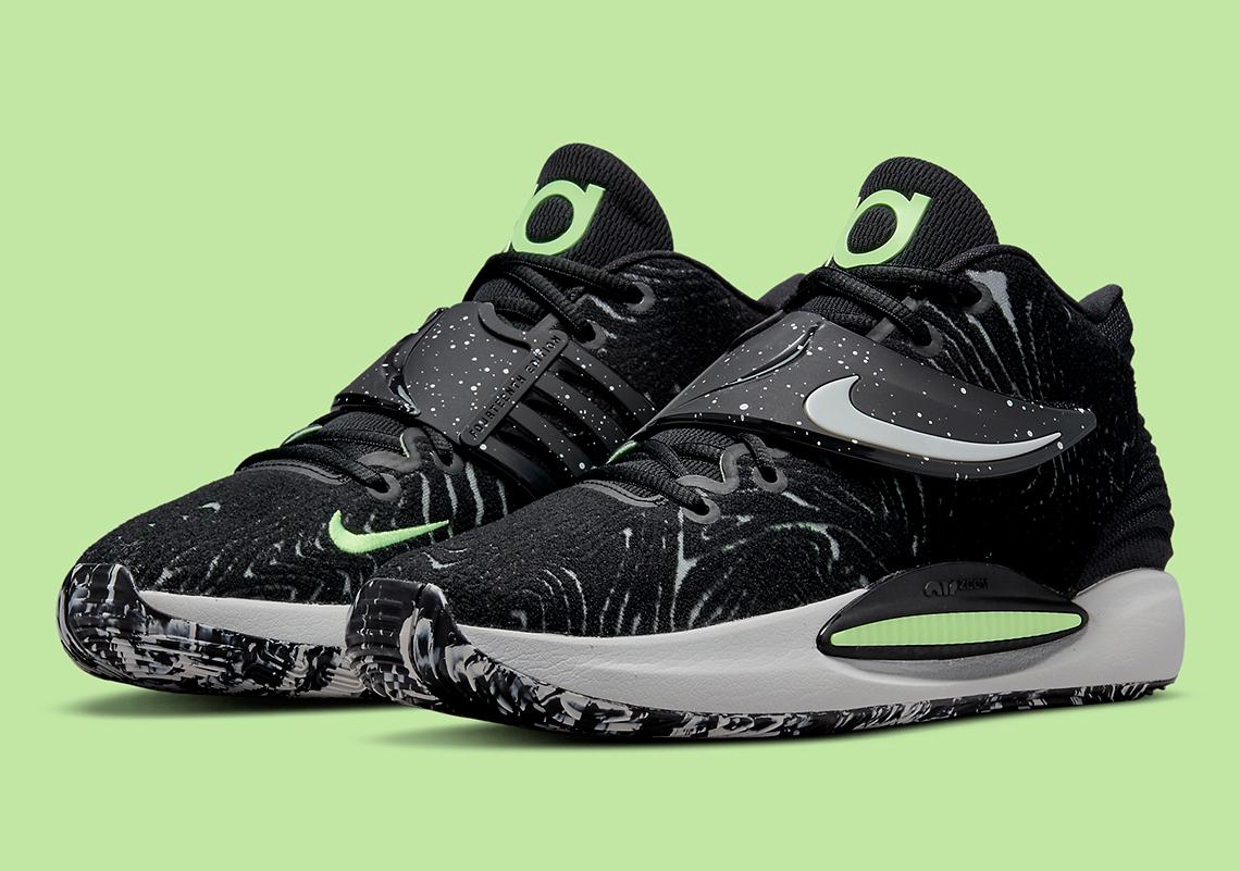 Nike KD 14 Black Volt CW3935 005 6