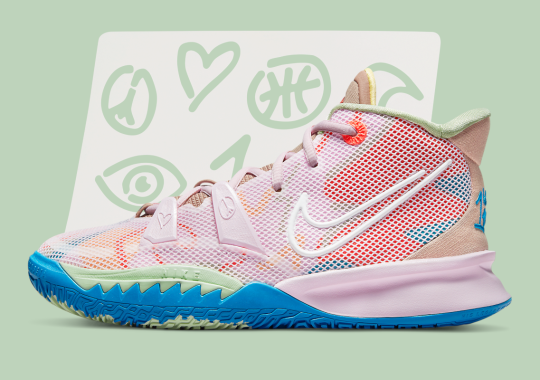 """The Nike Kyrie 7 """"1 World 1 People"""" Spreads Love And Peace"""