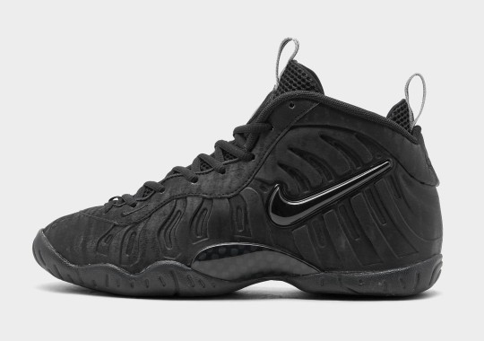 """The Kid's Nike Little Posite Pro """"Black Cat"""" Is Available Now"""