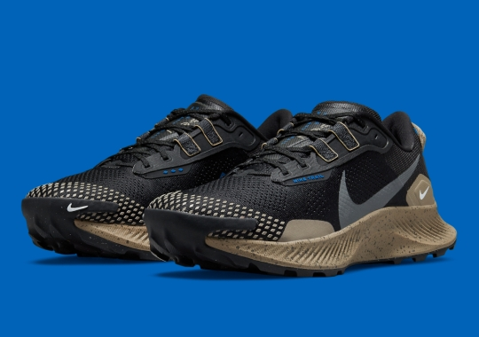 """Black"" And ""Khaki"" Take Over The Latest Nike Pegasus Trail 3"