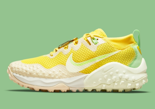 This Women's Nike Zoom Wildhorse 7 Stands Out In Multiple Yellow Hues