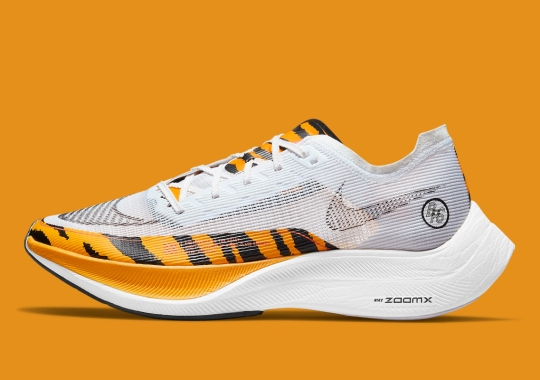 """The Nike ZoomX VaporFly NEXT% 2 """"BRS"""" Is Covered In Tiger Stripes"""